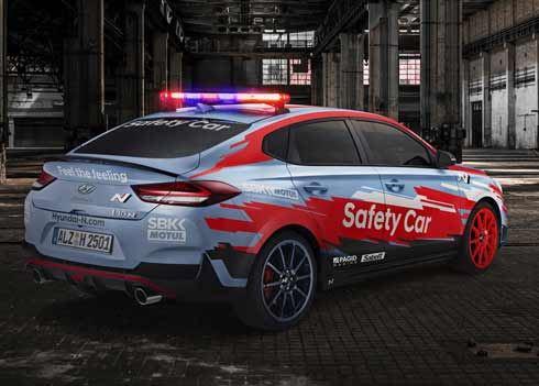 i30 Fastback N maakt debuut als Safety Car