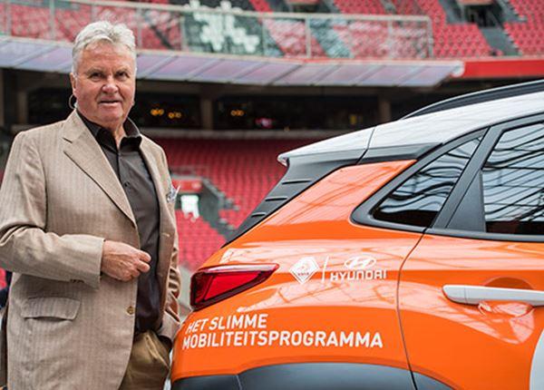 Ook Guus Hiddink is fan van een groene toekomst
