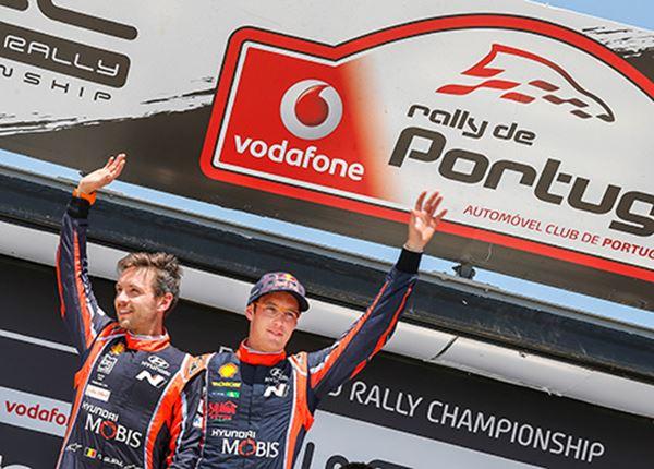Rallyteam vol vertrouwen naar Portugal