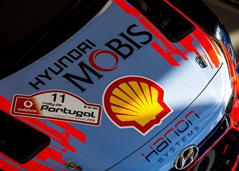Rallyteam doet goede zaken in Portugal