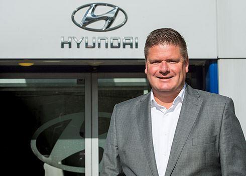 Berend Jan Hoekman Managing Director Hyundai