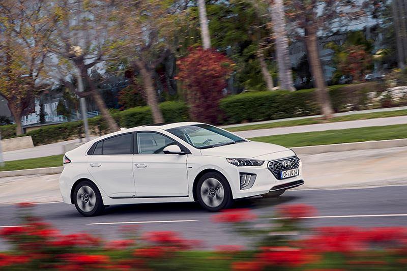 De nieuwe Hyundai IONIQ Hybrid.
