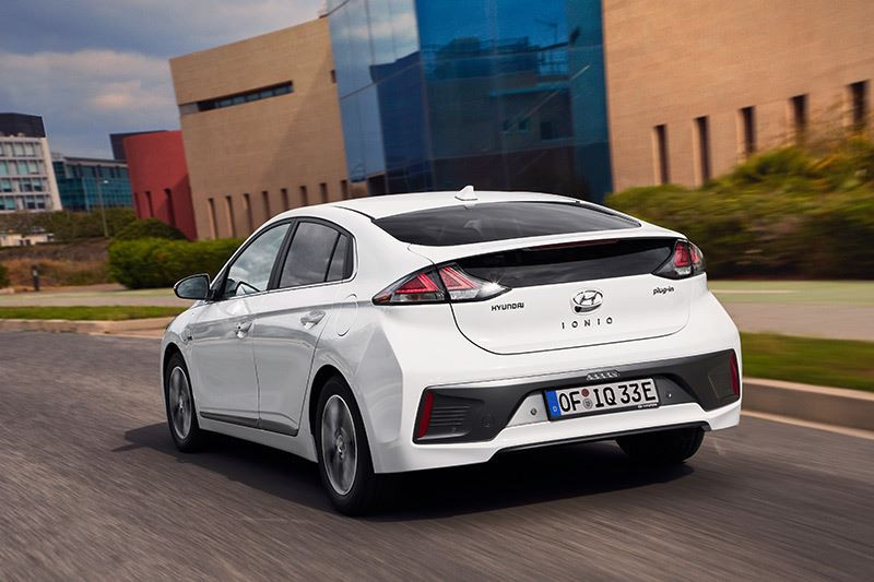 De nieuwe Hyundai IONIQ Plug-in Hybrid.