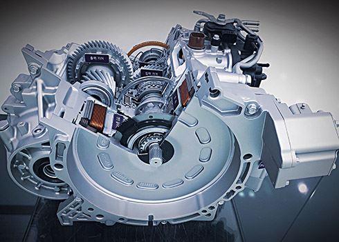 Hyundai ontwikkelt 's werelds eerste Active Shift Control voor hybrideauto's