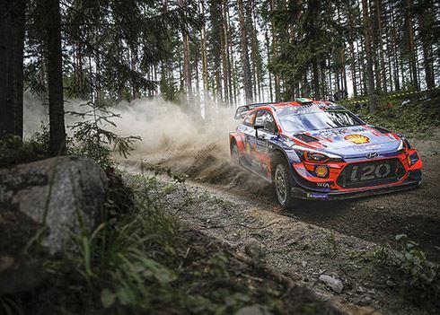 Hyundai verstevigt koppositie in teamklassement na Rally van Finland