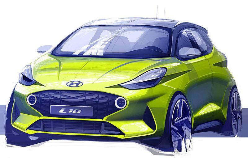 De nieuwe Hyundai i10 beleeft zijn wereldpremière op de IAA in Frankfurt.