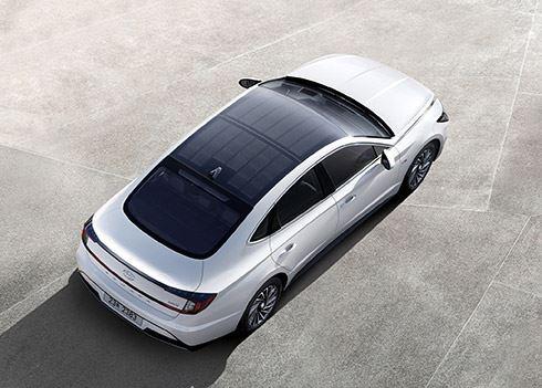 Hyundai Sonata: ons eerste hybride-model op zonne-energie