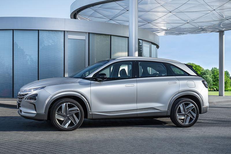 De Hyundai NEXO ontving een TOP SAFETY PICK+ award van het Insurance Institute for Highway Safety (IIHS).