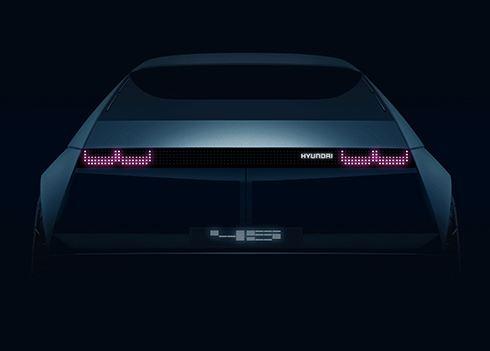 Hyundai toont elektrische conceptauto 『45』