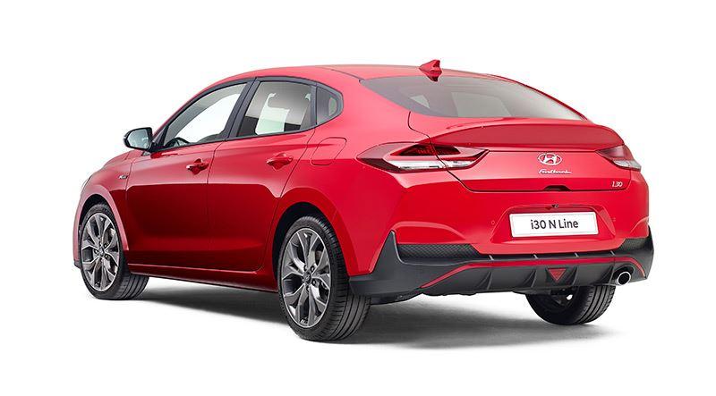 De Hyundai i30 Fastback N Line.