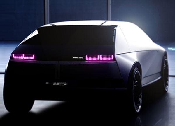 Nóg een plaagfoto van de Hyundai 『45』