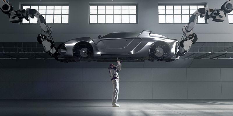 De Vest EXoskeleton van Hyundai helpt productiemedewerkers in de (auto)industrie.