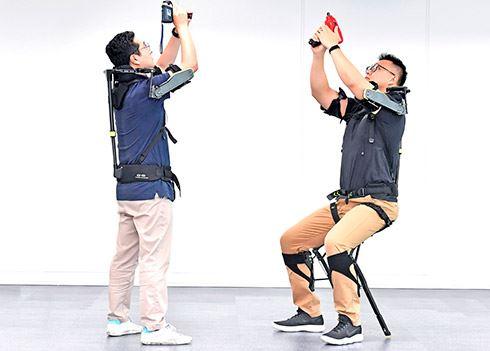 Slim gerobotiseerd exoskelet helpt bij zwaar werk
