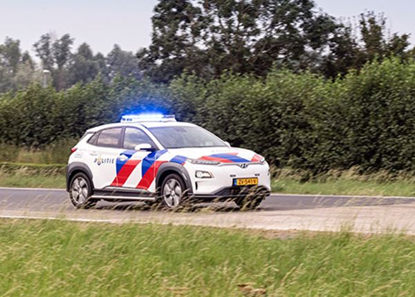 Politie test KONA Electric in pilot
