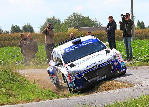 Bob de Jong Nederlands kampioen in Hyundai i20 R5