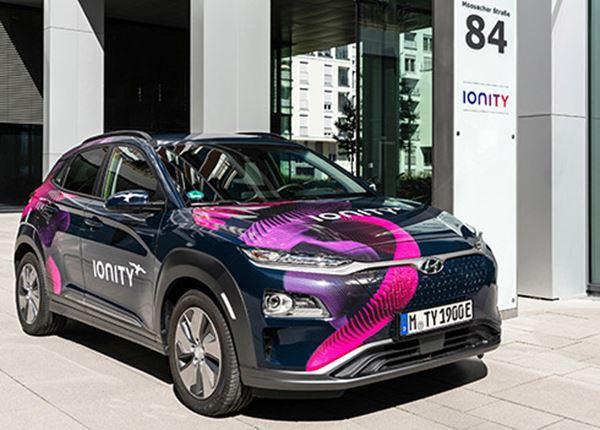 Hyundai investeert in IONITY