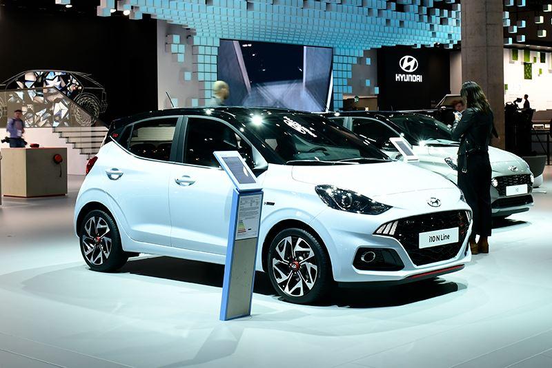 De nieuwe Hyundai i10 in sportieve N Line-uitvoering.