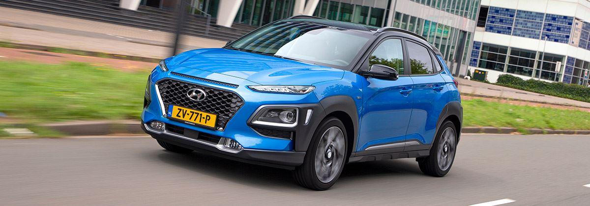 Scherpe vanafprijs nieuwe Hyundai KONA Hybrid