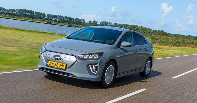 De vernieuwde Hyundai IONIQ Electric is nieuw in de testvloot van Hyundai Nederland.