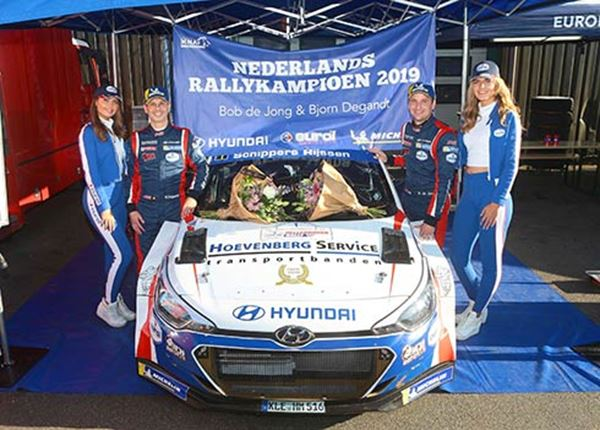 Bob de Jong geeft Nederlandse rallytitel extra glans