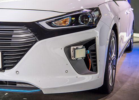 Hyundai test autonoom rijdende IONIQ in Europa
