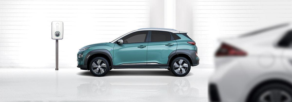 Tijdelijk gratis oplaadpunt bij aanschaf elektrische Hyundai met laadpakket