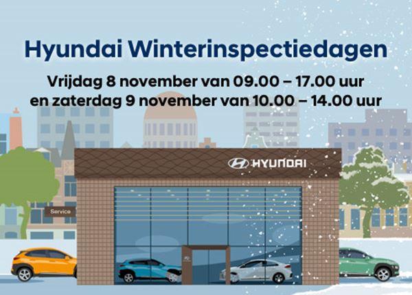 Hyundai Winterinspectiedagen op 8 en 9 november
