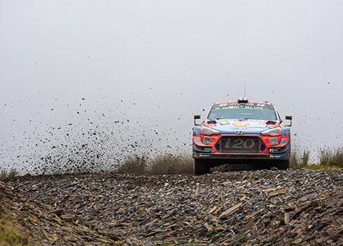 Rallyteam heeft constructeurstitel voor het grijpen