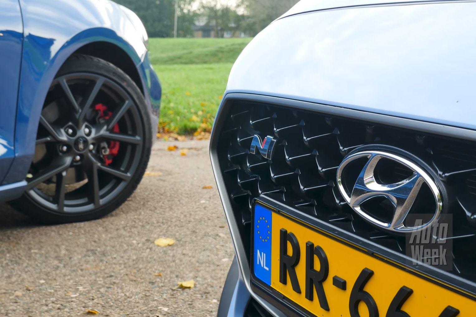 Vlammende dubbeltest AutoWeek: i30 N vs. Focus ST