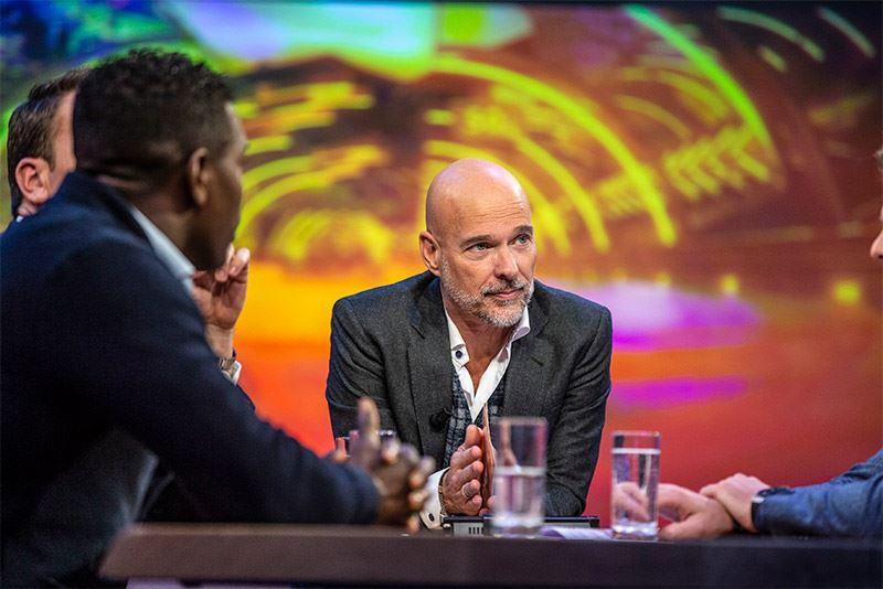 Rob Kamphues is regelmatig te zien op televisie als presentator van de studioprogramma's op Ziggo Sport rondom de Formule 1-races.