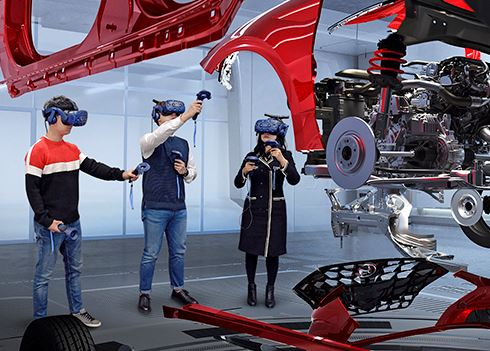 Hyundai ontwikkelt virtual reality evaluatiesysteem
