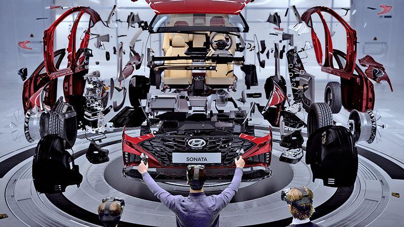 De ontwikkelingstijd van nieuwe Hyundai-modellen wordt 20 procent korter door de toepassing van virtual reality.