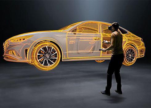 Nóg efficiënter auto's ontwikkelen met virtual reality