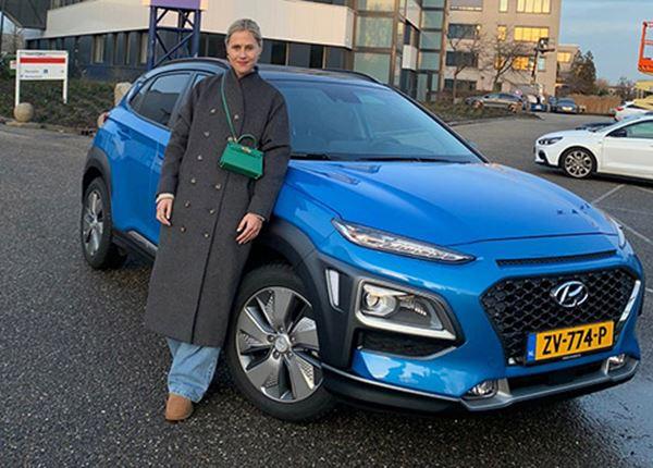 Linda Tol kiest voor de KONA Hybrid