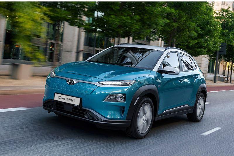 De Hyundai KONA Electric 39 kWh heeft een zeer comfortabele actieradius van 289 km.