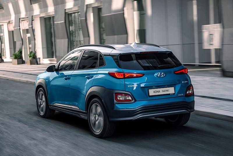 De Hyundai KONA Electric 39 kWh is leverbaar met een 3-fase omvormer.
