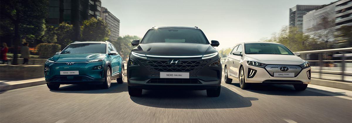 Welke elektrische Hyundai kies jij?