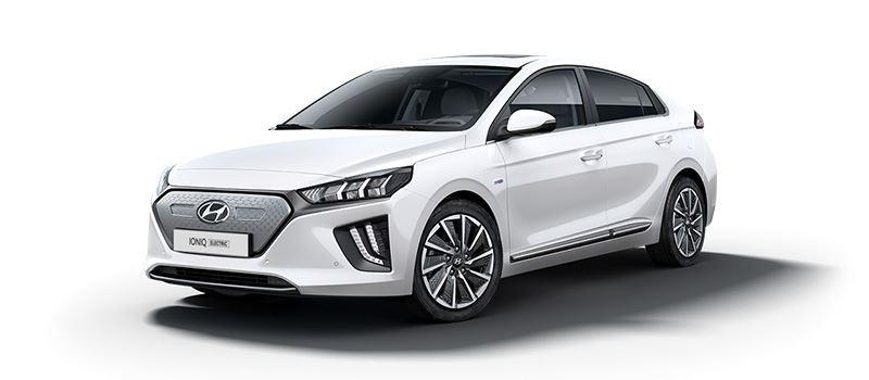 De Hyundai IONIQ Electric is als een van de weinige volledig elektrische auto's direct leverbaar.