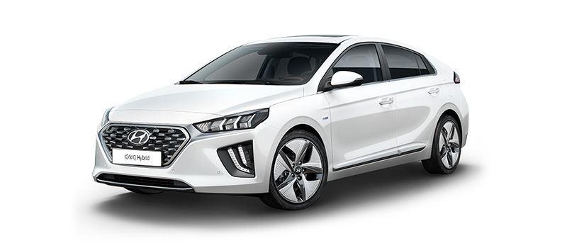 De Hyundai IONIQ Hybrid combineert de beste aerodynamica van zijn klasse met een slimme aandrijflijn.