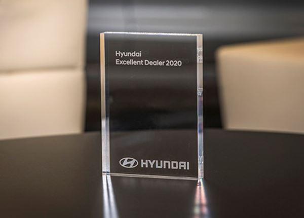 Hyundai reikt Excellent Dealer Awards 2020 uit