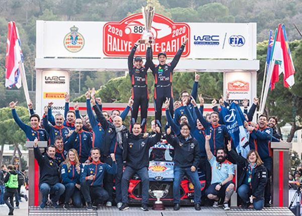 Historische overwinning in Rally van Monte Carlo
