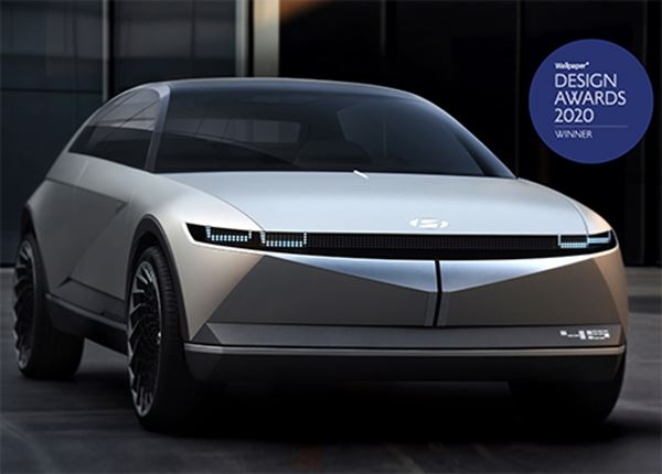 Wallpaper Design Award voor concept car 45