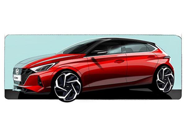 Eerste teaserfoto's nieuwe Hyundai i20