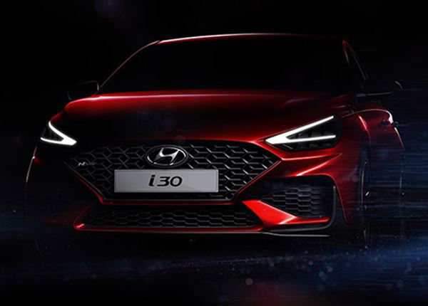 Spannende eerste glimp van de vernieuwde Hyundai i30