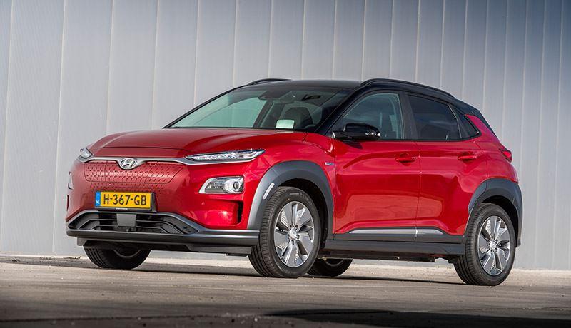 De verbeterde Hyundai KONA Electric.