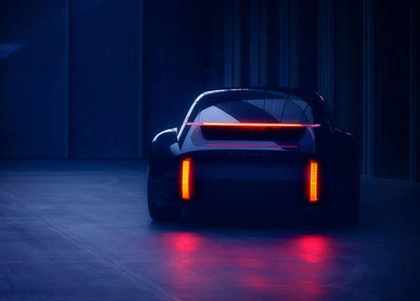 Tijdloze schoonheid: elektrische concept car Prophecy