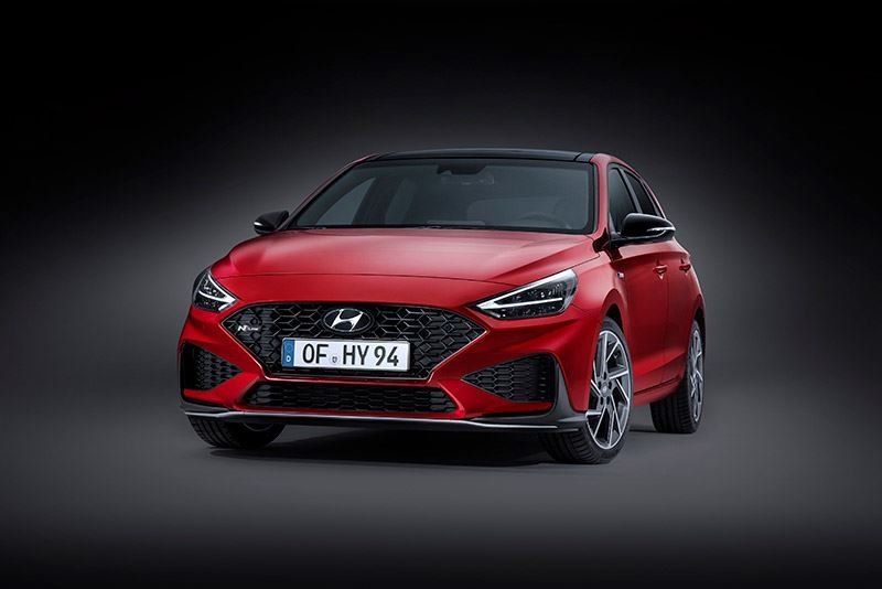 De nieuwe Hyundai i30 N Line