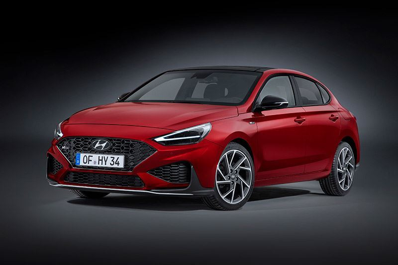 De nieuwe Hyundai i30 Fastback N Line
