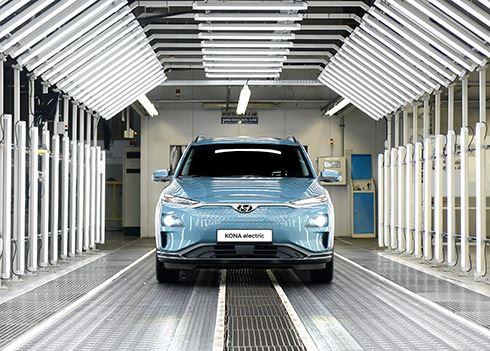 Productie Hyundai KONA Electric in Tsjechië