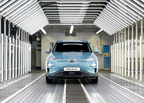 Productie Hyundai KONA Electric in Tsjechië